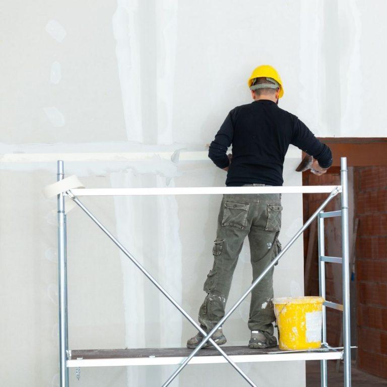 Revestimento com chapas de Drywall