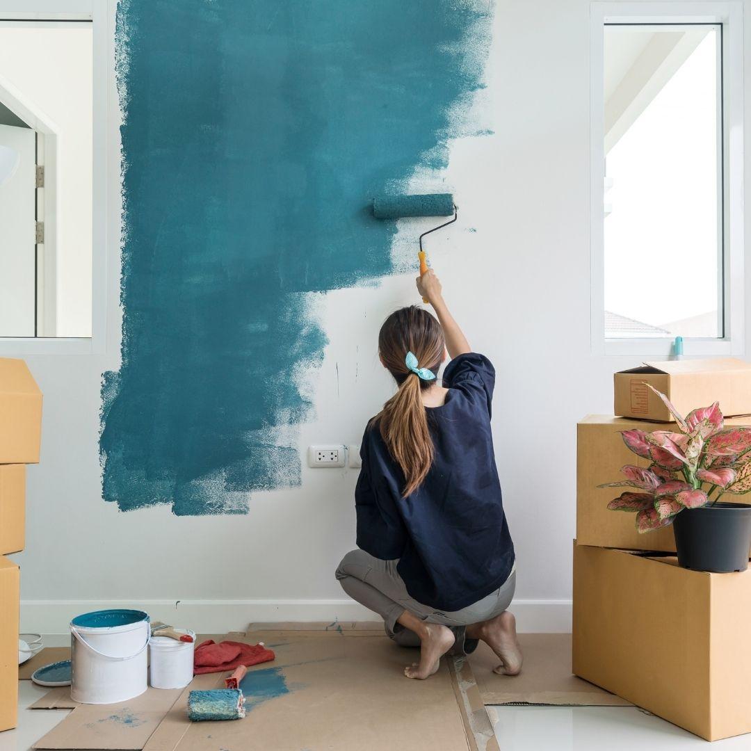 Será que a pintura de Drywall é igual a de paredes de alvenaria?